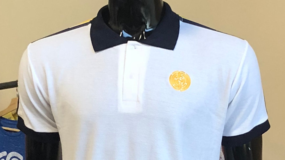 WHITE\GOLD\NAVY NFP SIGNATURE POLO