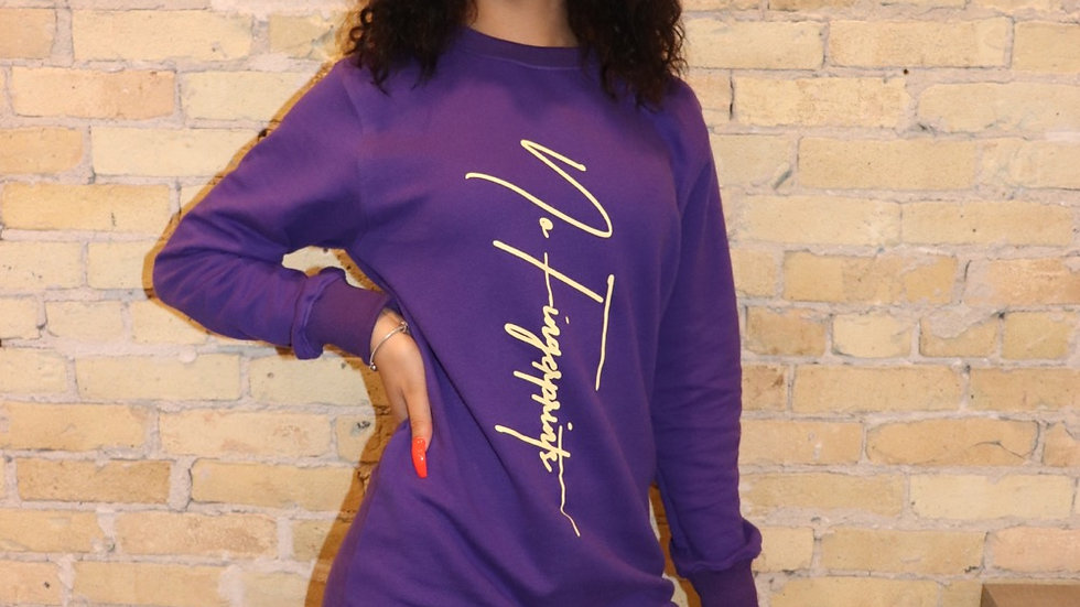 Women's Signature Purple Dress