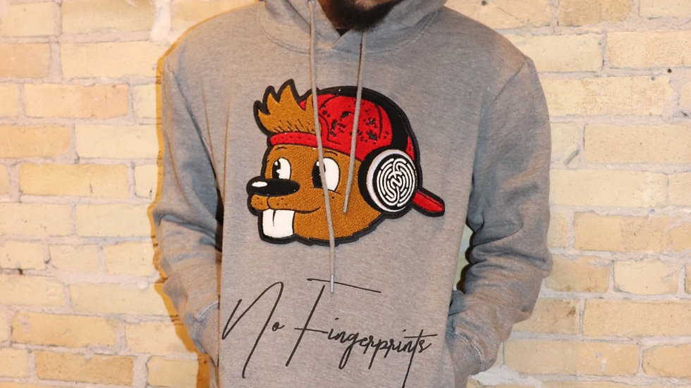Quirk Signature Chenille Patch Hoodie