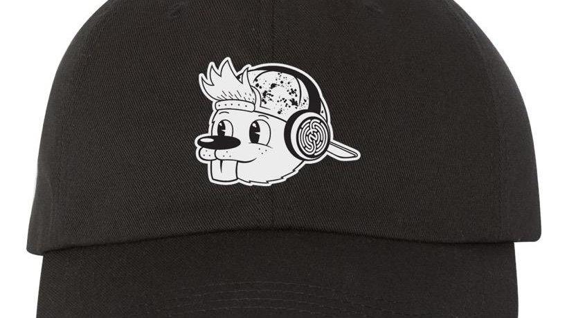 BLACK QUIRK DAD HAT