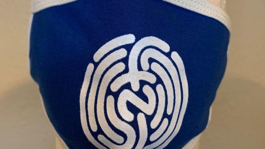 BLUE&WHITE NFP LOGO MASK
