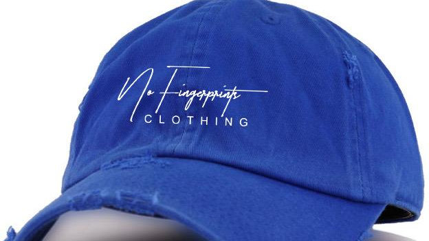 "BLUE ""VINTAGE"" DAD HAT"