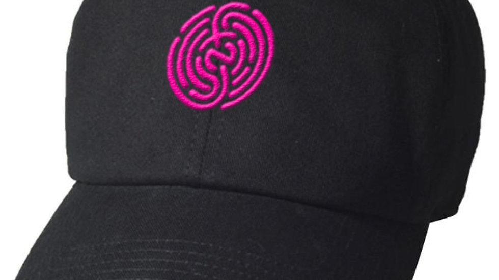 BLACK&PINK DAD HAT