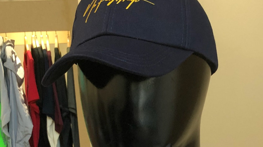 NAVY/GOLD NFP SIGNATURE HAT
