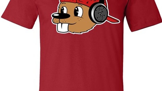 RED QUIRK TEE