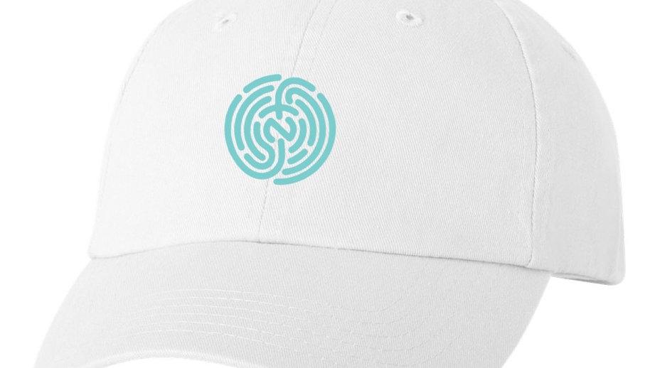 MINT&WHITE DAD HAT