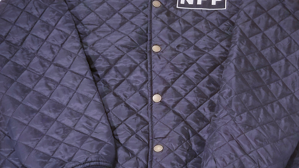 BLACK NFP BOMBER JACKET