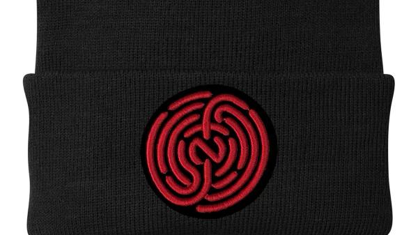 RED & BLACK NFP LOGO SKULLY