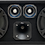 "Thumbnail: VOICEBOX® Dual 10"" Midrange Enclosure with Tweeters & Aluminum Horn -Dust Cap"