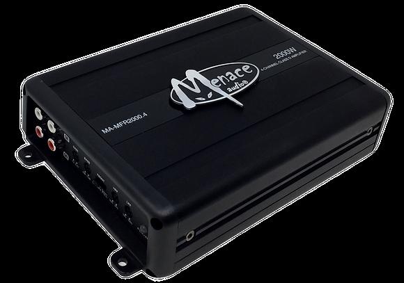 Menace Audio® 2000 Watt 4-Channel Amplifier