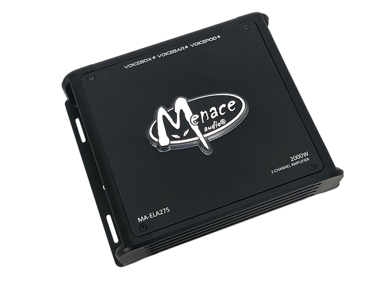 Menace Audio® 2000W 2OHM Monoblock Amplifier