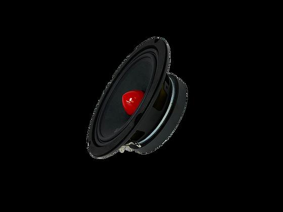 """Menace Audio® 6.5"""" Midrange Speaker - Red Bullet"""