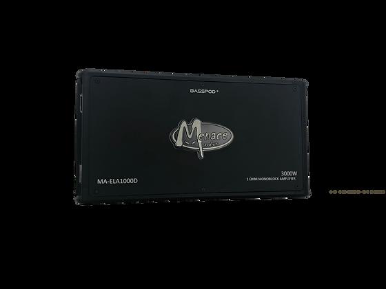 Menace Audio® 3000W 1OHM Monoblock Amplifier