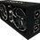 "Thumbnail: VOICEBOX® Dual 10"" Midrange Enclosure with Horns - SILVER"