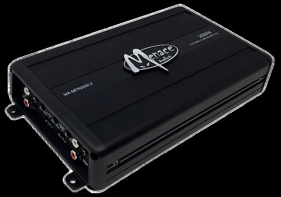 Menace Audio® 2000 Watt 2-Channel Amplifier