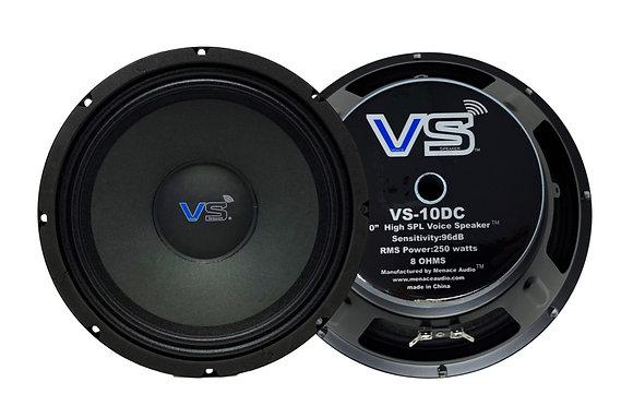 "Menace Audio® 10"" High SPL Midrange Speakers - MSRP $149.99 /PAIR"