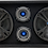 "Thumbnail: VOICEBOX® Dual 8"" Midrange Enclosure with Tweeters - Blue"