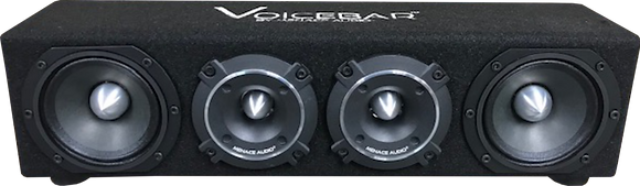 VOICEBAR® Menace Audio®-High Output Slim Profile Midrange Enclsoure