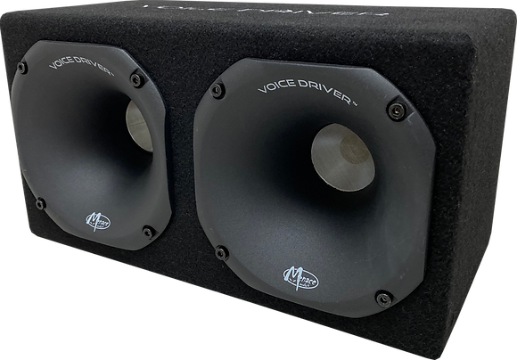 "Menace Audio® Dual 2"" Compression Driver Enclosure"