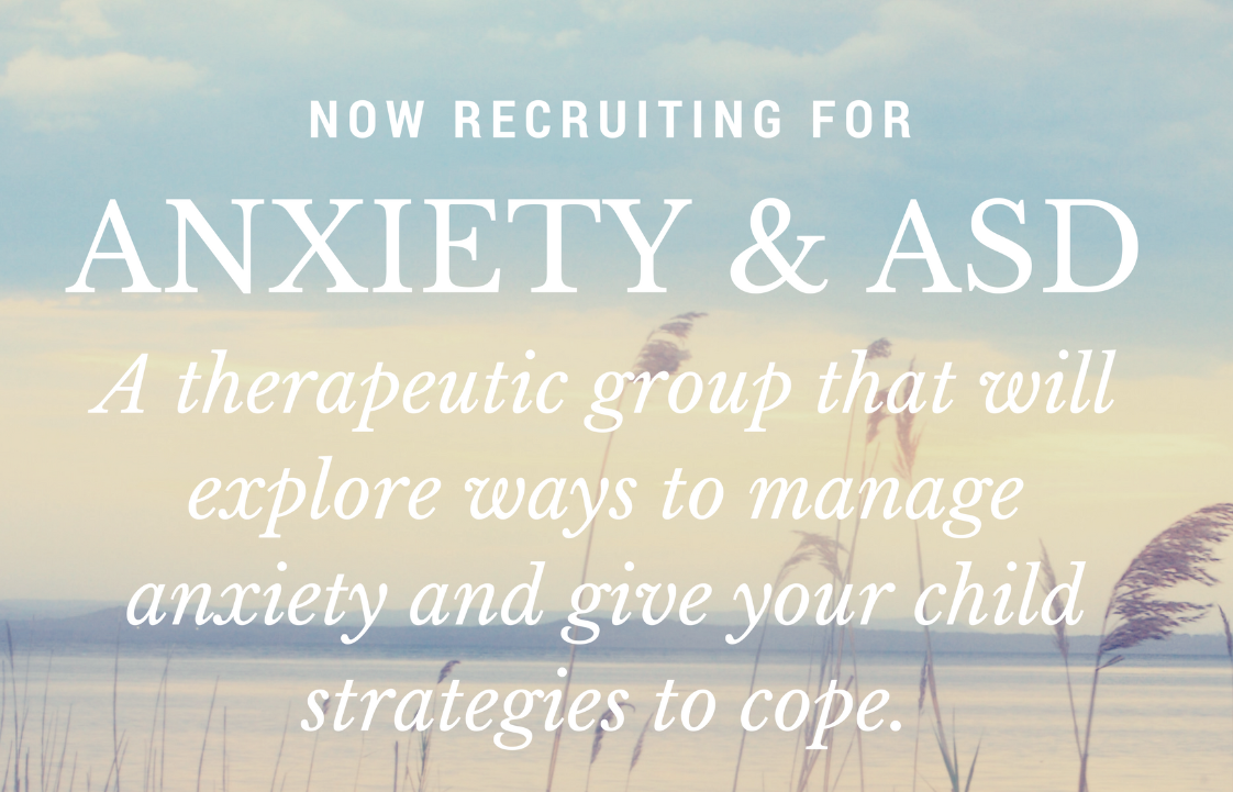 Anxiety and ASD Group