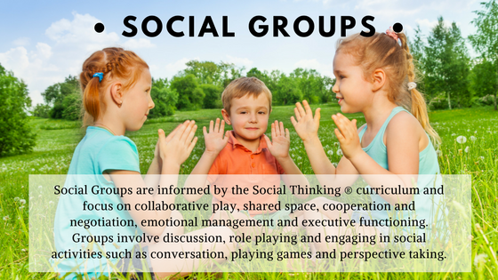 NEW Social Groups