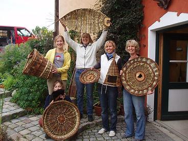 Korbflechtkurs, Die Flechterei, Susanne Achtzehner, Landkreis Weilheim Schongau, Bayern