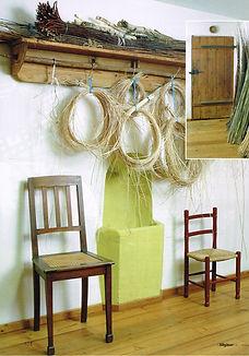 Die Allgäuerin, Artikel über Stuhlflechterin Susanne Achtzehner, Winter 2009