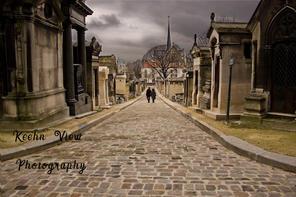 Pere Lachaise Cemetery, Paris, France co