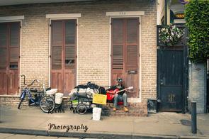 New Orleans, Side Street Water Mark.jpg