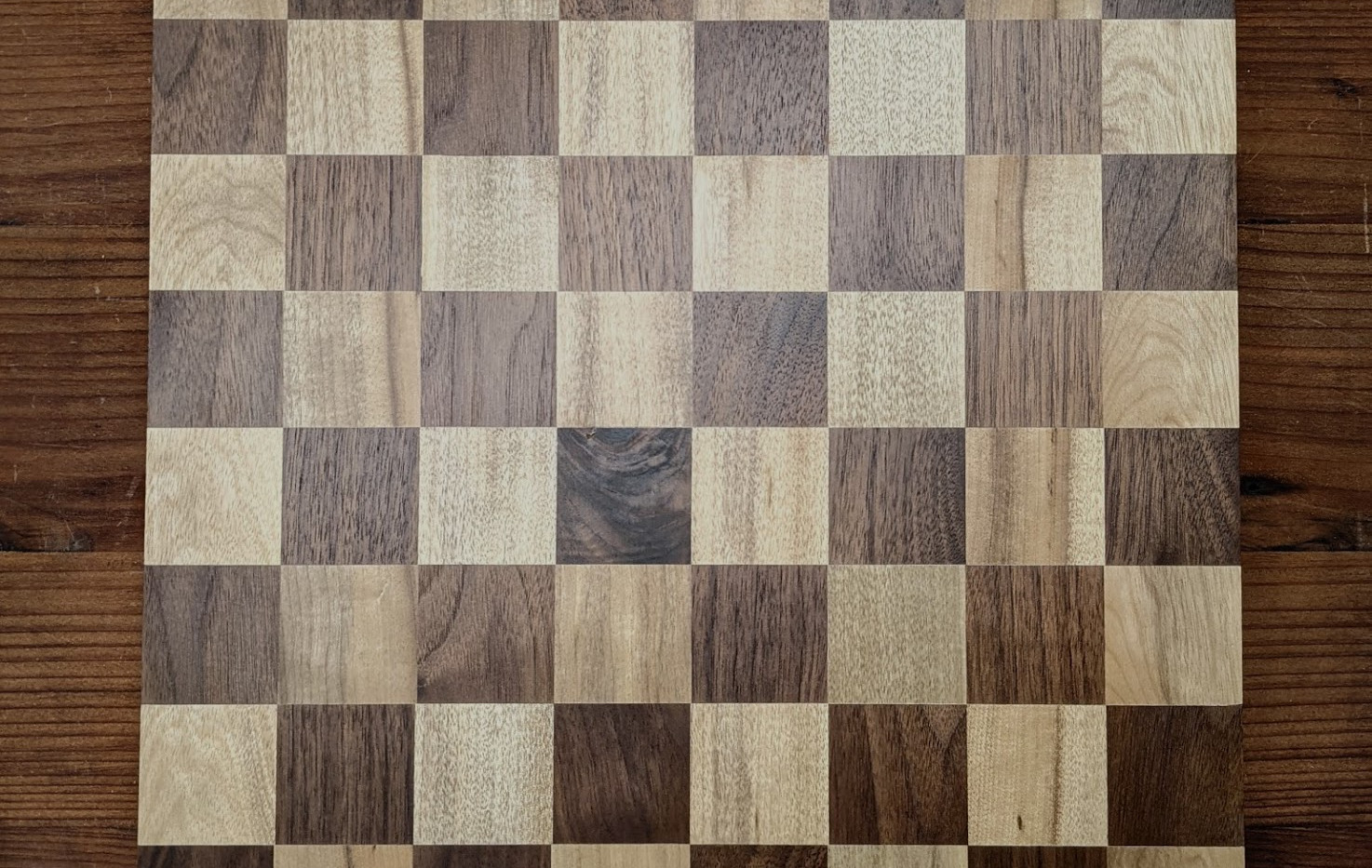 myrtlewood and walnut chess board.jpg