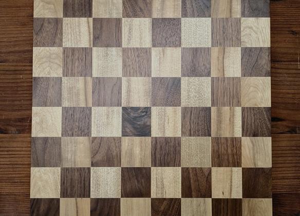 myrtlewood and walnut chess board.jpg