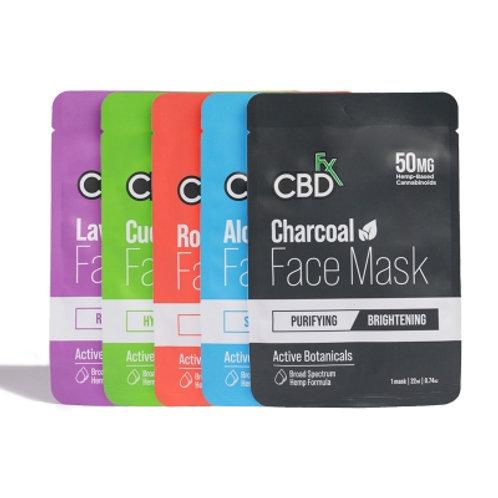 CBDfx フェイスマスク 5枚(5種類から各1枚)