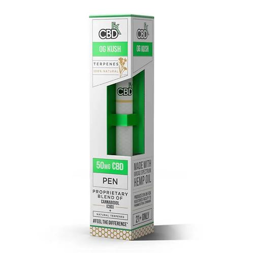 OGクッシュ - CBD Terpenes Vape Pen 50mg