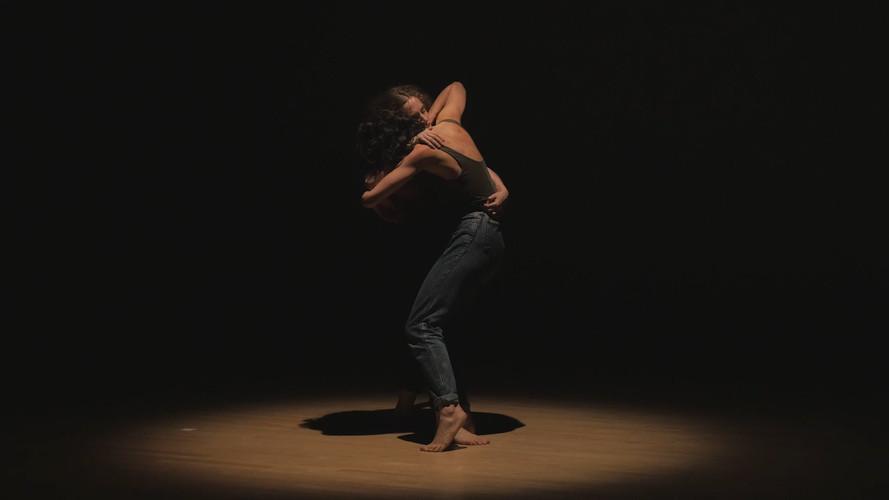 Still from live performance documenation by Ji Yang