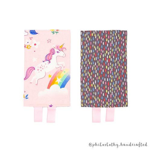 Reversible Droolpads - Straight