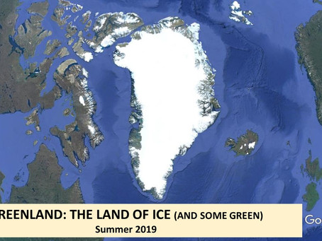 Greenland: the land of ice (and some green)