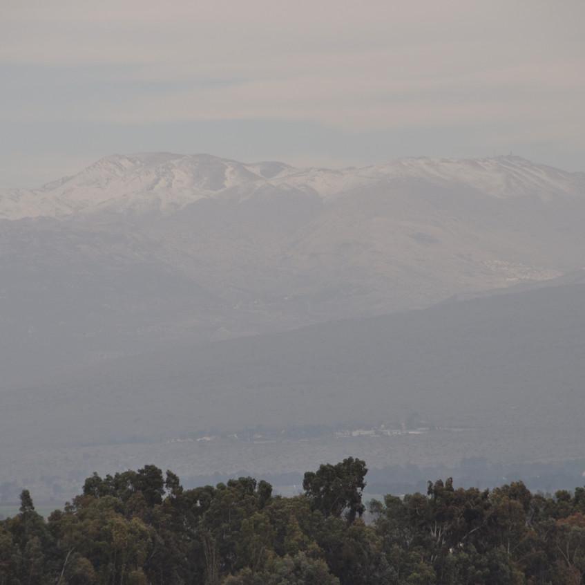 Galilea_Vista del Mt. Hermon