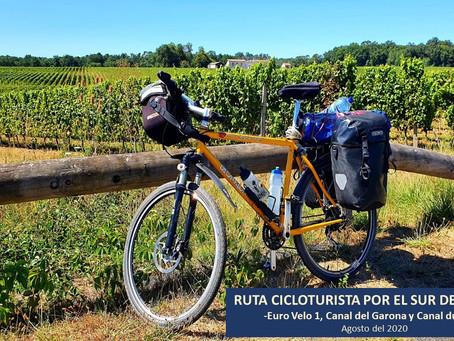Ruta cicloturista por el sur de Francia