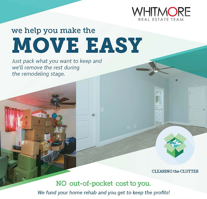 Move easy, no out of cost to you