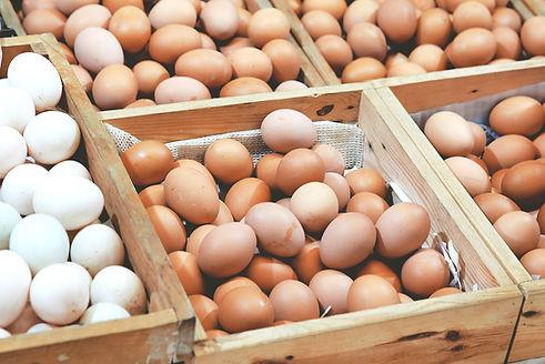 Eggs to represent the Men's monthly breakfast