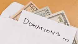 Cash Donation/Contribution