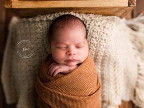 First newborn in the new studio!
