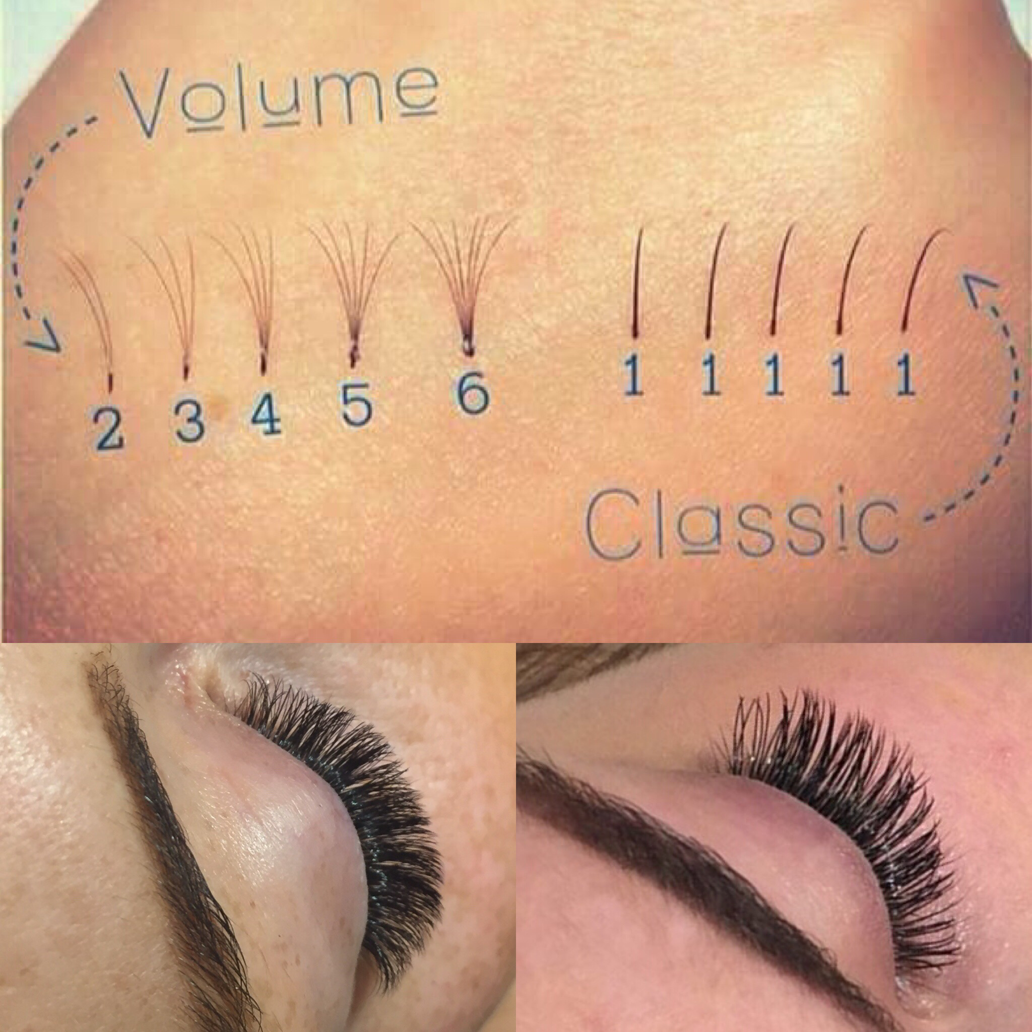 dd3f582f68f What's the difference between classic and Russian volume eyelash ...