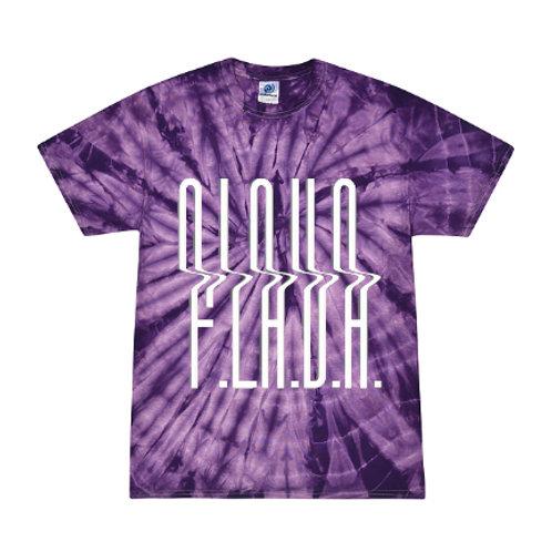 Purple Tie Dye F.L.A.V.A. Tee
