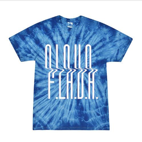 Blue Tie Dye F.L.A.V.A. Tee