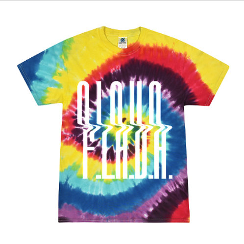 Multi-Color Tie Dye F.L.A.V.A. Tee *BEST SELLER*
