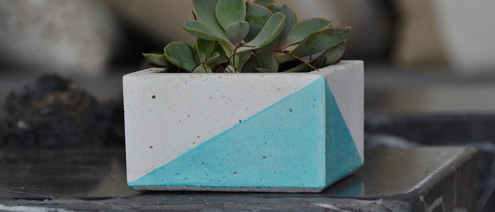 Blanca Cuadrada Azul