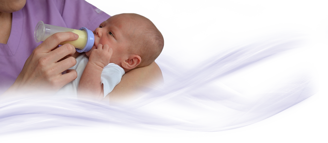 infant feeds using the nfant slow flow nipple