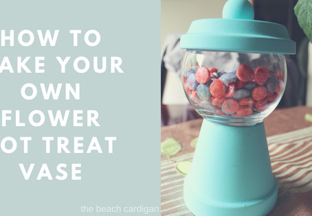 How to Make a Flower Pot Treat Holder