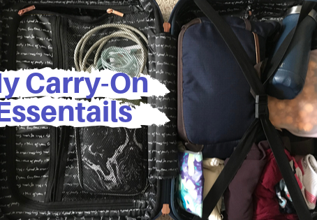 My Carry-On Must-Haves